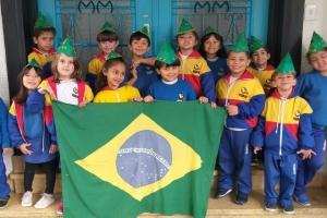 07 de Setembro - Dia da Independência do Brasil - Pré A e B